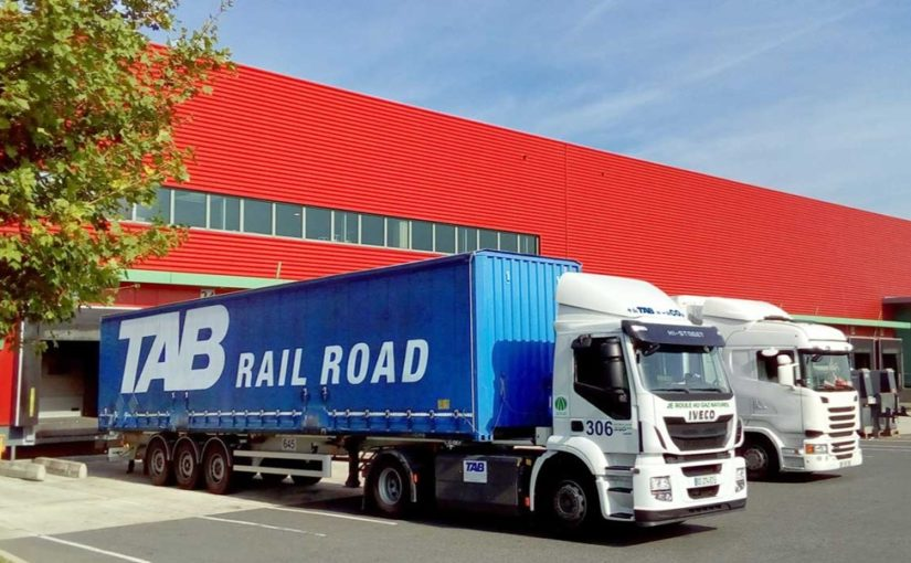 TAB Rail Road roule sur une route durable avec le GNV